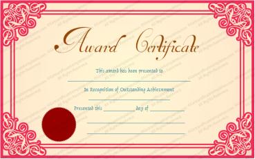 Best Achievement Award Certificate Template Awards Certificates Template Certificate Templates Employee Awards Certificates