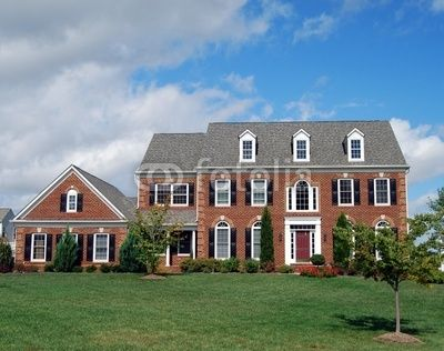 Repaint House Ideas Red Brick Colonial