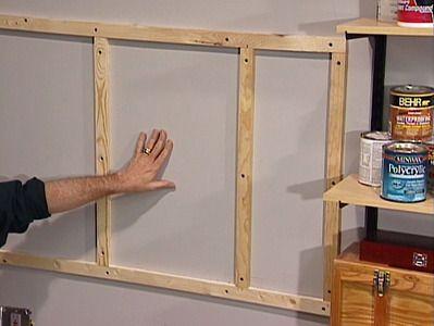 Install A Pegboard Wall Peg Board