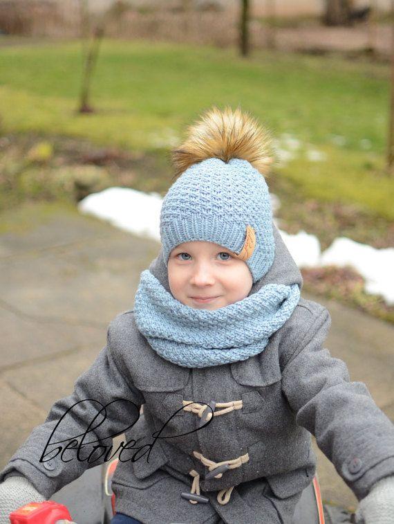 Kids Knit Winter Hats