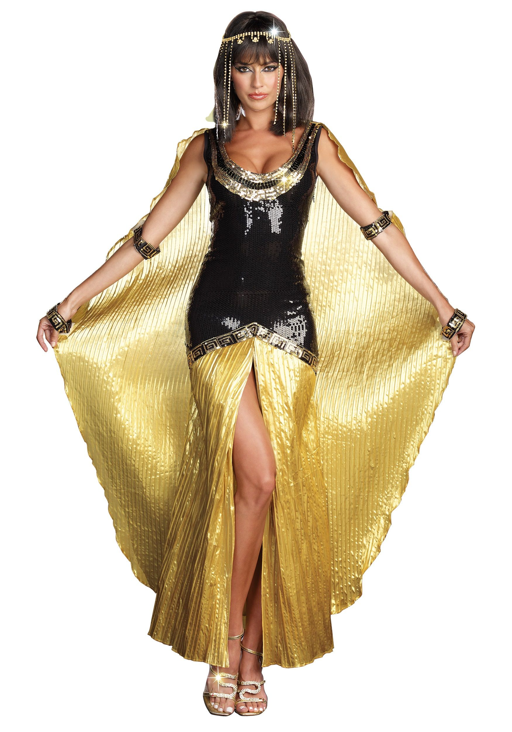 Sequin Sexy Cleopatra Costume   Egyptian queen, Costumes and Sexy ...