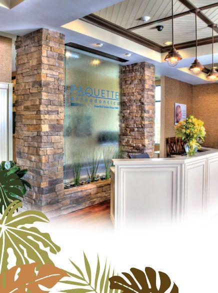 Paquette Orthodontics Medical Office Design Business Office Decor Dental Office Design