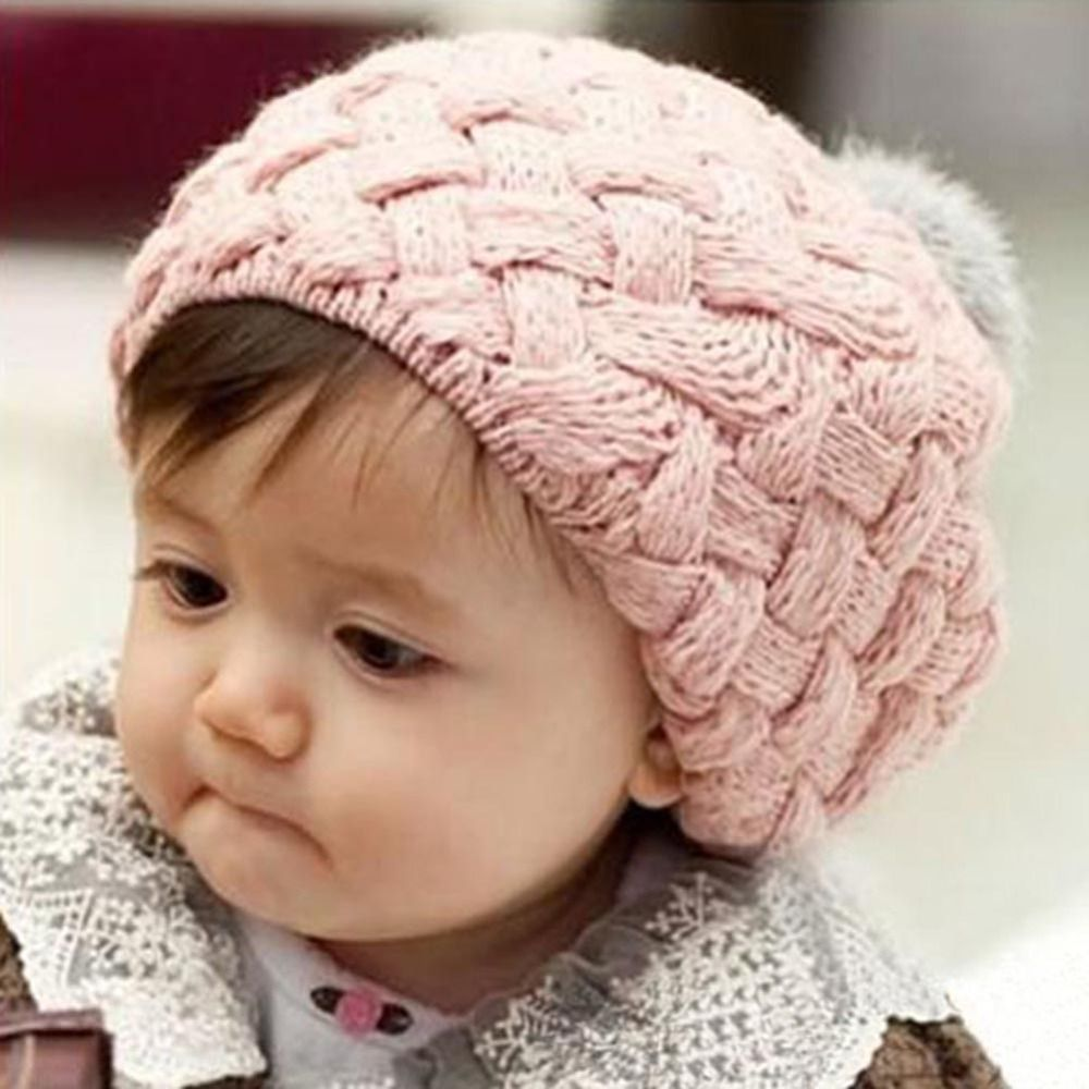 Click to Buy    Baby Hat Kids Baby Photo Props Beanie Faux Rabbit Fur  Gorros Bebes Crochet Beanie Toddler Cap  Affiliate.    435134c744c