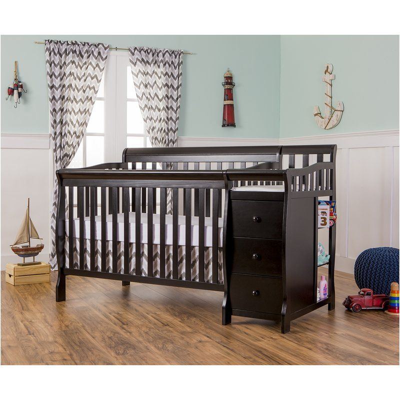 Brody 3 In 1 Convertible Crib And Changer Convertible Crib Cribs Furniture