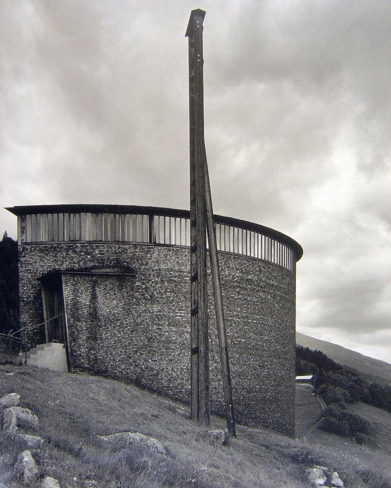 Caplutta Sogn Benedetg, Sumvitg, Graubünden, Switzerland