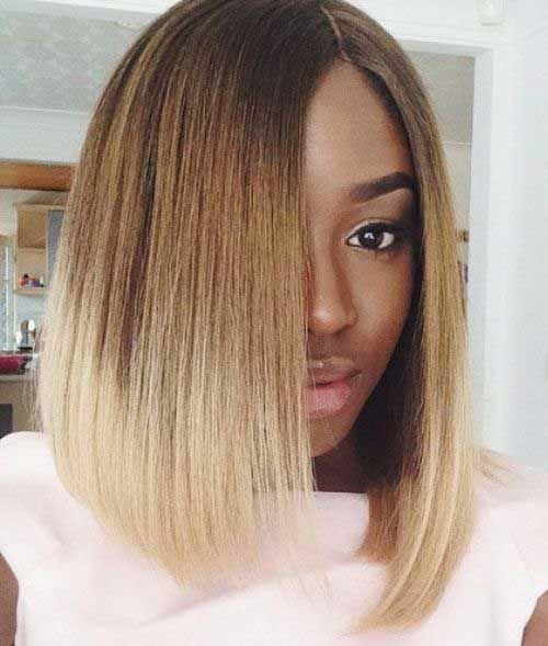 Short Ombre Bob Style For Black Women Bob Hairstyles Bobs
