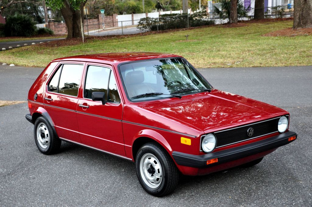 Passed One Of These Up On The Way Home 1980 Vw Rabbit