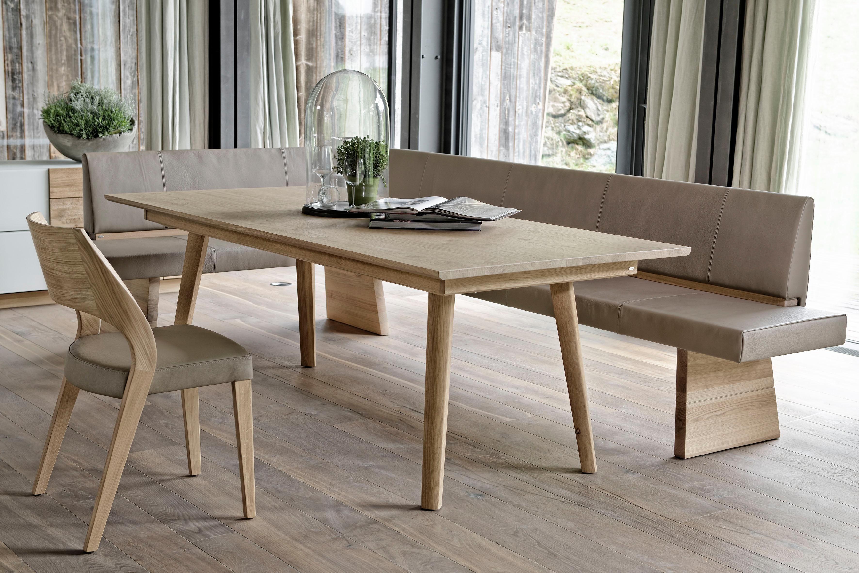 Esstisch Eiche Sonoma Truffel Tisch Weiss Holzplatte Esstisch