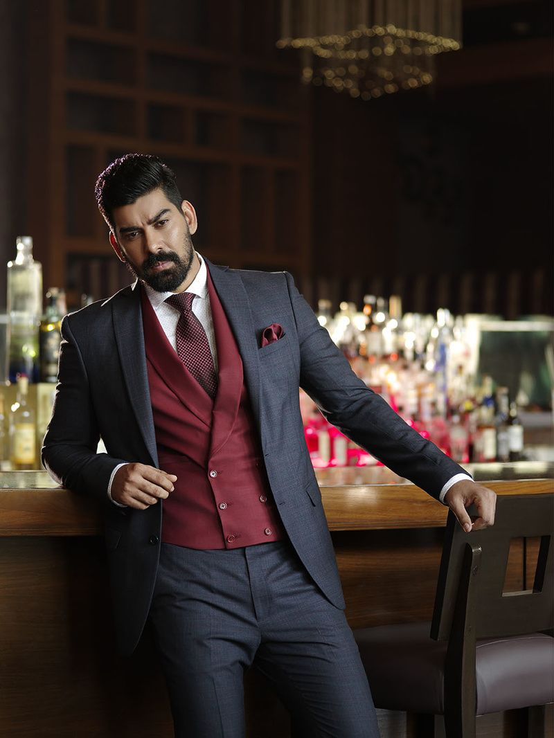 Photo Of Grey Suits Burgundy Suit Designer Suits For Men Wedding Suits Men