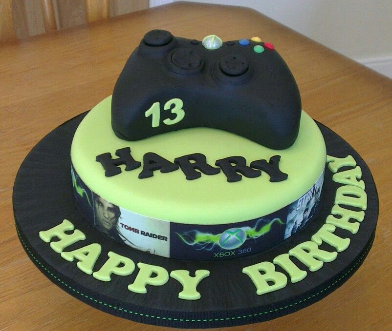 Xbox Cake, Cake And Birthdays