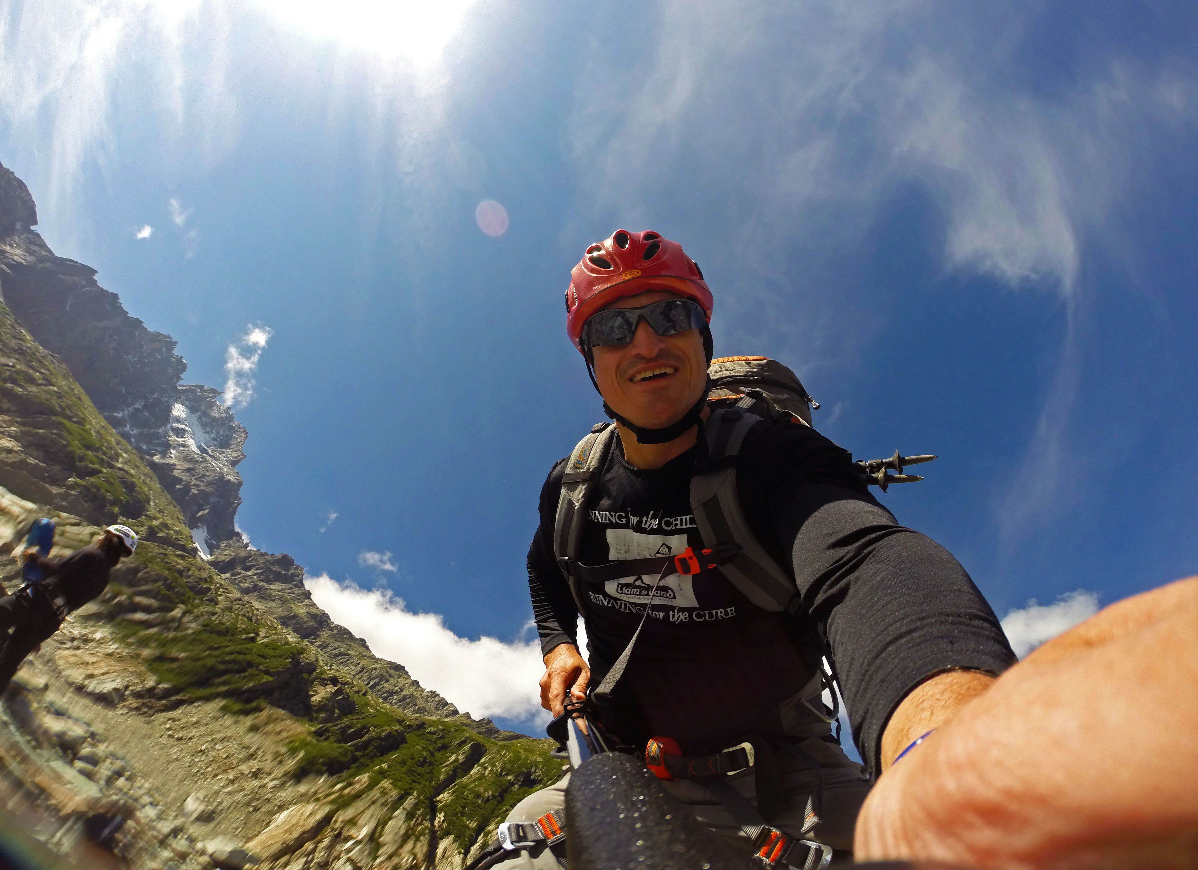 on mer de glace, mont blanc trip, august 2014