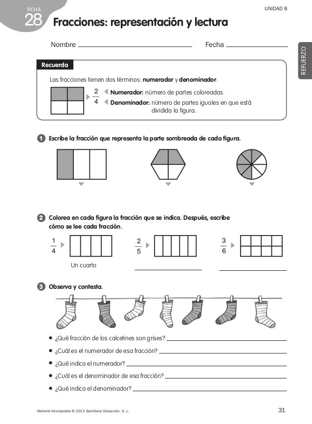 Refuerzo matemáticas 4º de primaria | Matemáticas | Pinterest | Math ...