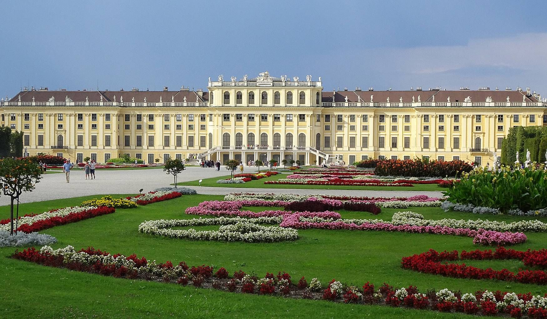 Дворец Шёнбрунн (Вена, Австрия) - авторский обзор, часы ...