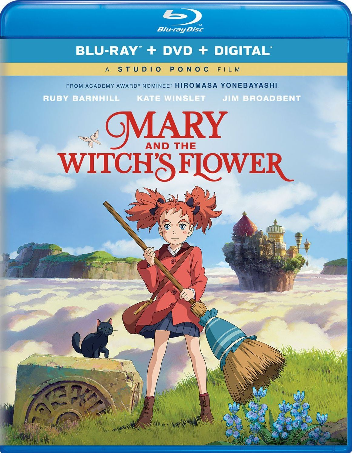 MARY AND THE WITCH'S FLOWER BLURAY (UNIVERSAL STUDIOS