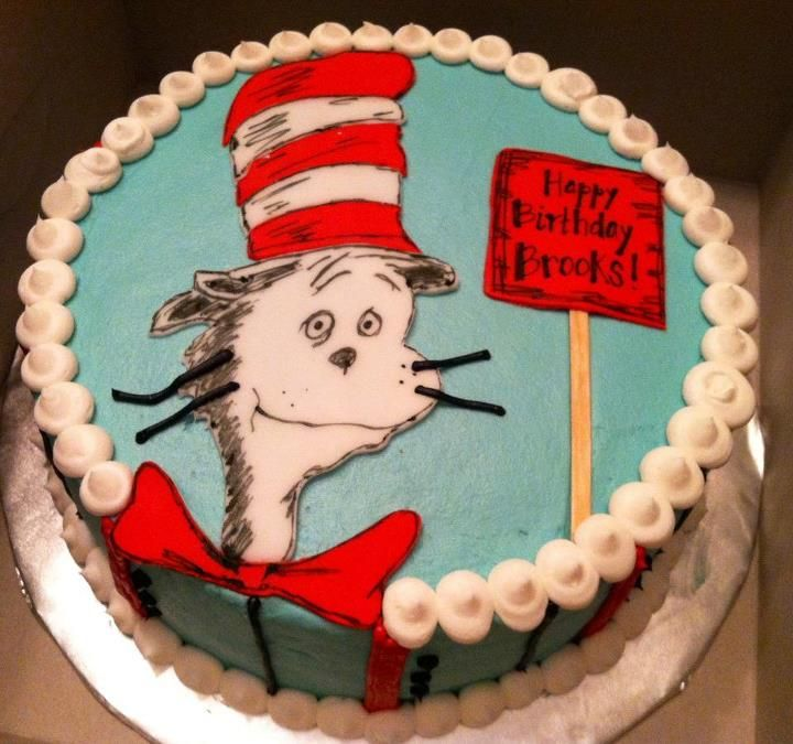 Sweet Treats by Susan Cat in the Hat Birthday Cake 12 Cakes