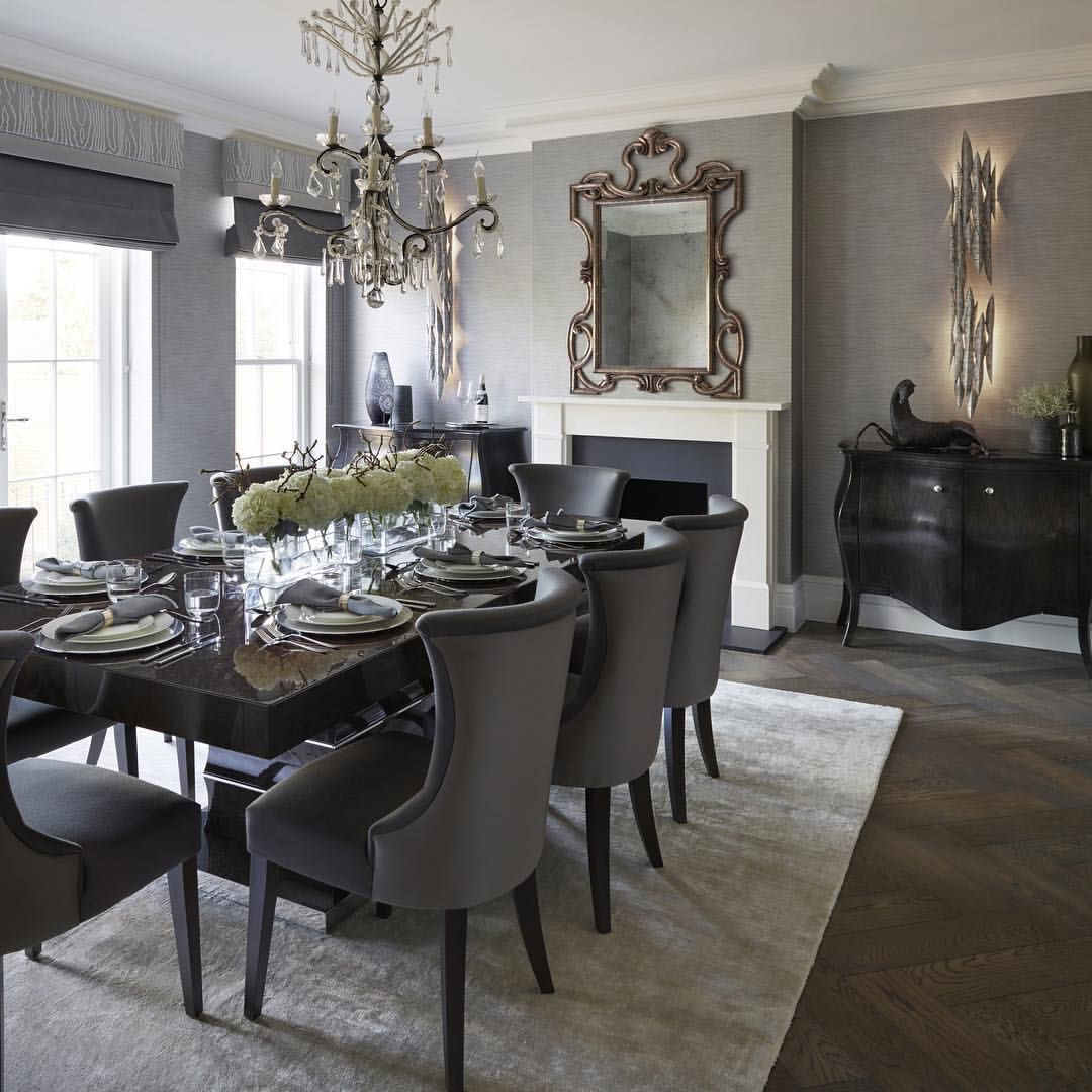126 Custom Luxury Dining Room Interior Designs: Elegant Dining Room, Luxury