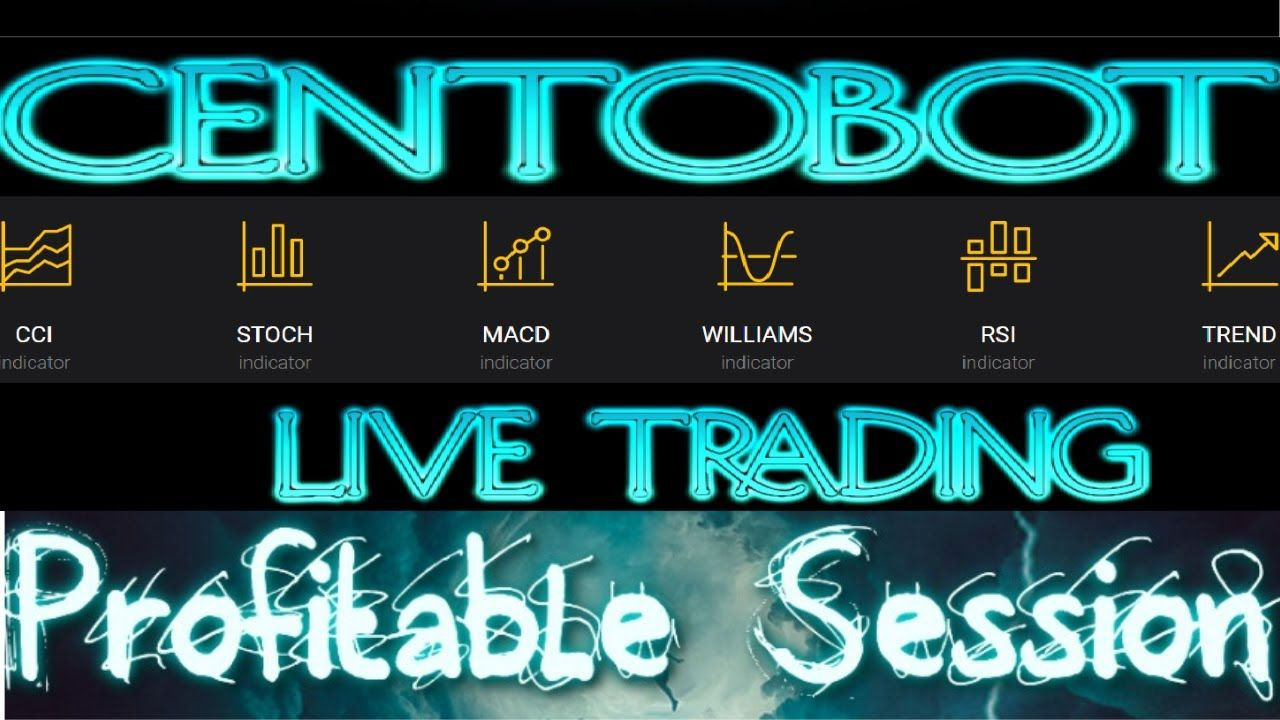 Centobot Automated Trading Software! Live Trading With