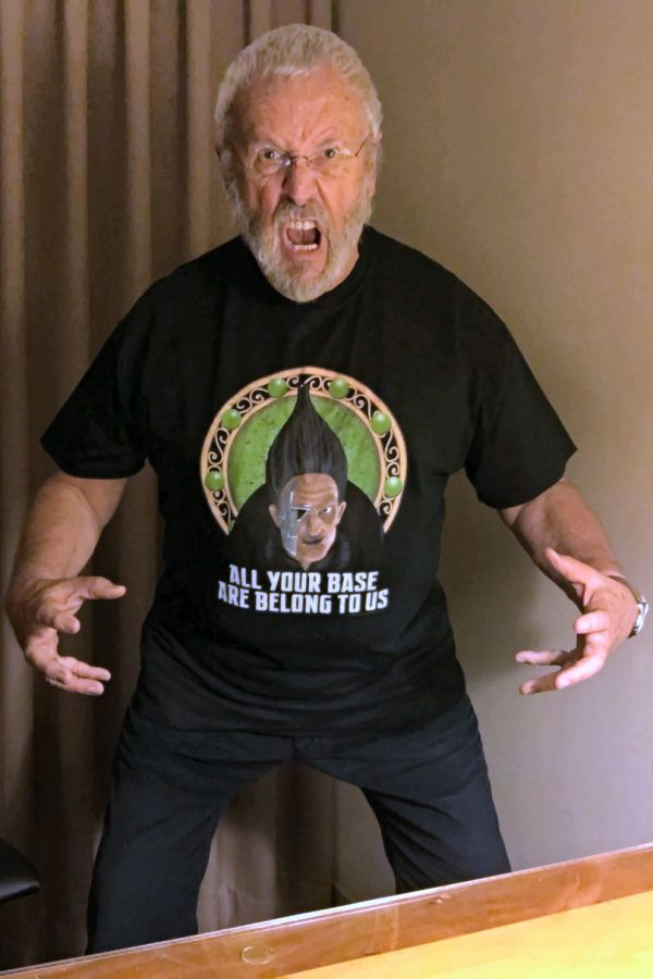 Buy The T Shirt Terry Molloy As Cats Has One All Your Base