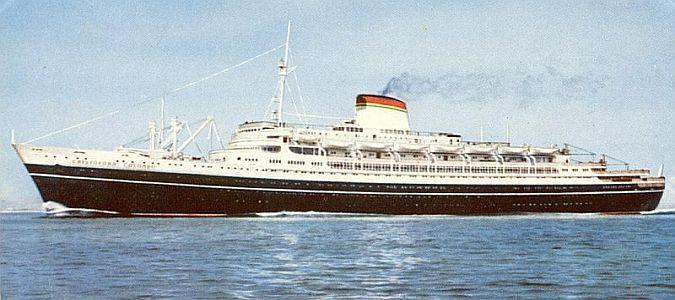 Cristoforo Colombo Italian Lines Superb Ton Cruise - Columbo cruise ship