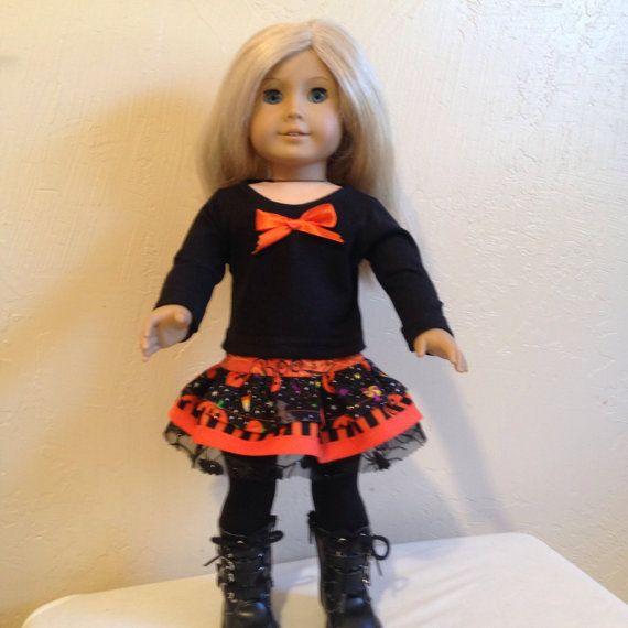 American Girl Doll ClothesHalloweem by Dalesdolldesigns on Etsy, $18.00