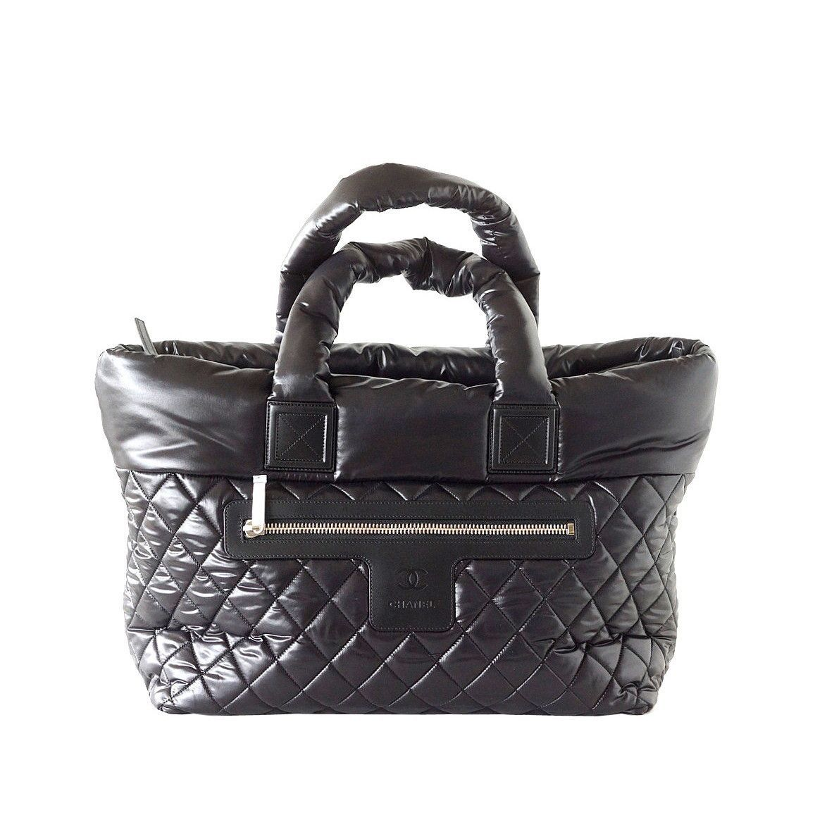 d75ebb6a87e2 Chanel Bag Coco Cocoon Black Tote Limited Edition New | Handbag ...