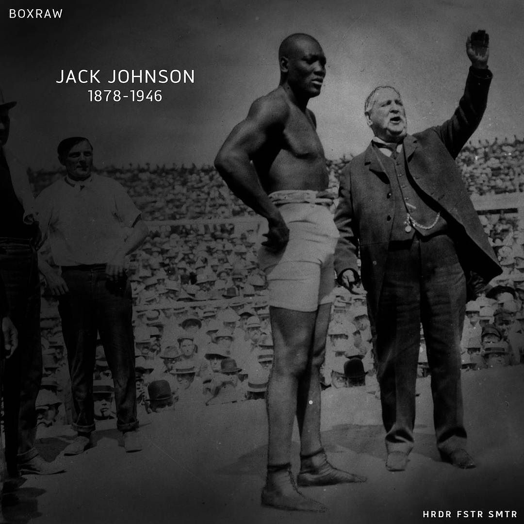 Instagram Photo By Boxraw Jul 28 2016 At 7 09pm Utc Jack Johnson Jack Johnson Boxer Boxing History