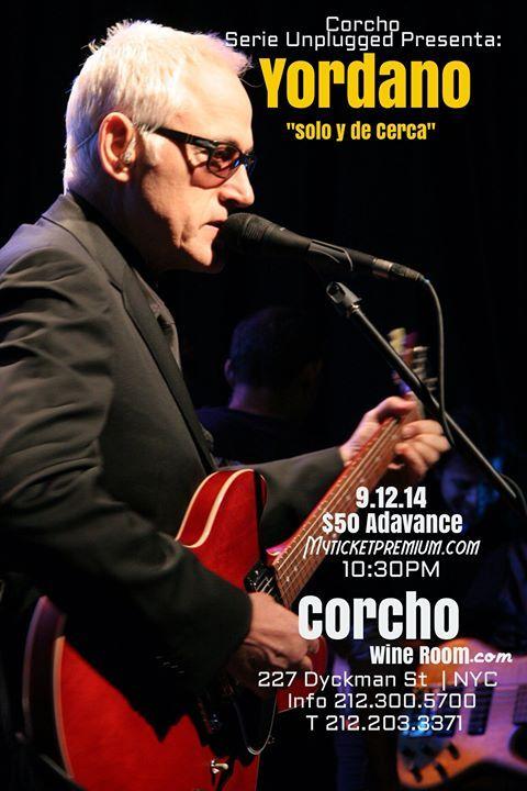 """Yordano 9.12.14 """"solo Y De Cerca"""" Corcho - Limited !"""