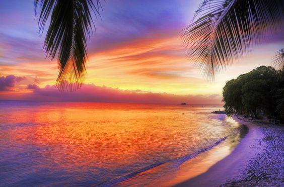 A Great Barbados Sunset Barbados Beaches Barbados Travel Beach Honeymoon Destinations
