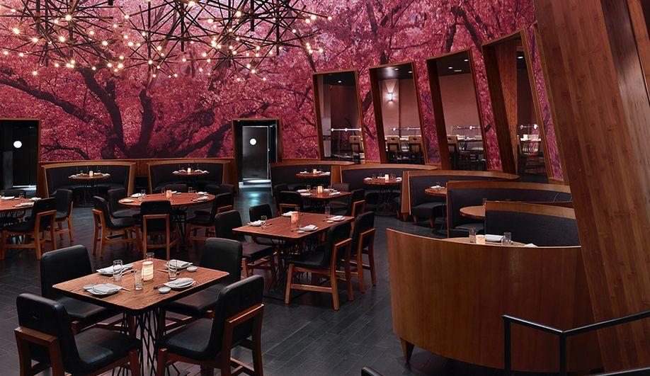 A Las Vegas Eatery That S Big On Japan Azure Magazine Japanese Restaurant Design Japanese Restaurant Interior Japanese Restaurant