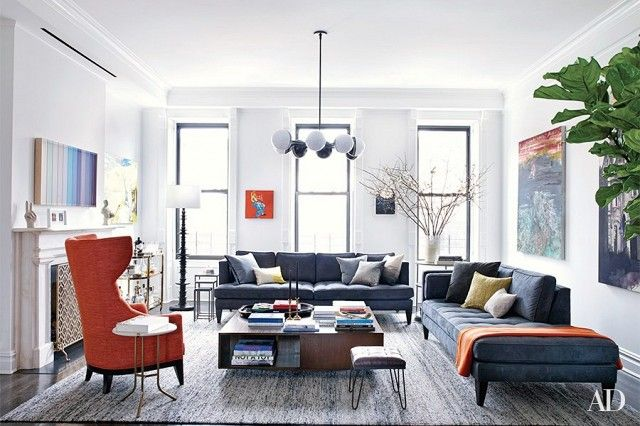 The 7 Best Celebrity Apartments In New York City Interior Design