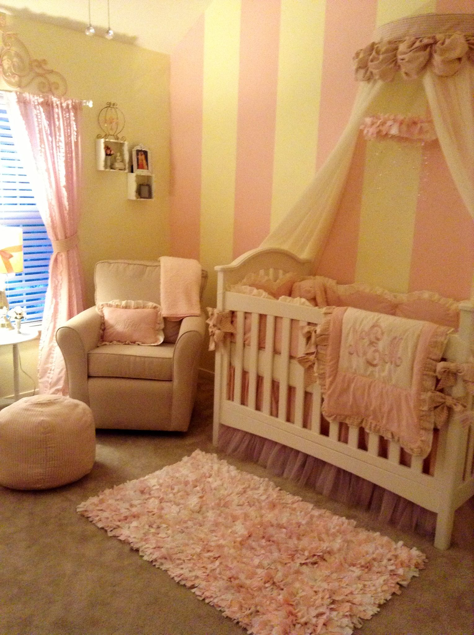 Nursery Yellow And Pink I Want A Cream Yellow And Pink Nursery