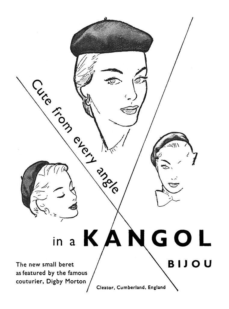 Kangol ad (1950).