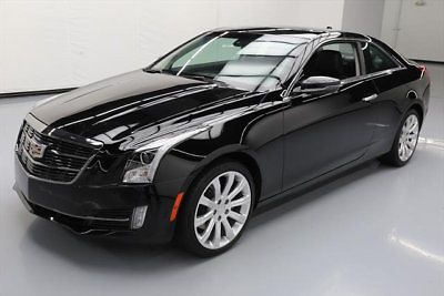 2017 Cadillac Ats Luxury Coupe 2 Door 0t Awd Lux Sunroof Nav Rear Cam 32k 123915 Texas Direct
