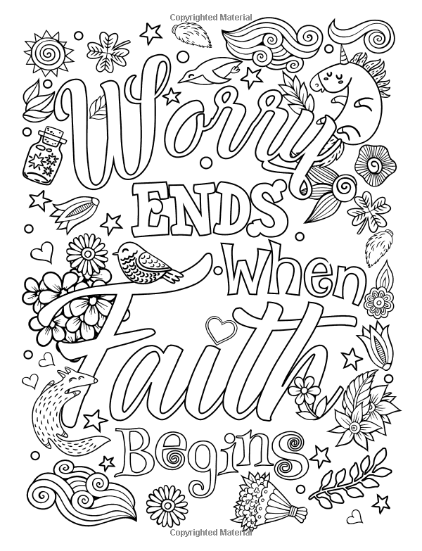 Adult coloring book : Good Vibes relaxation and