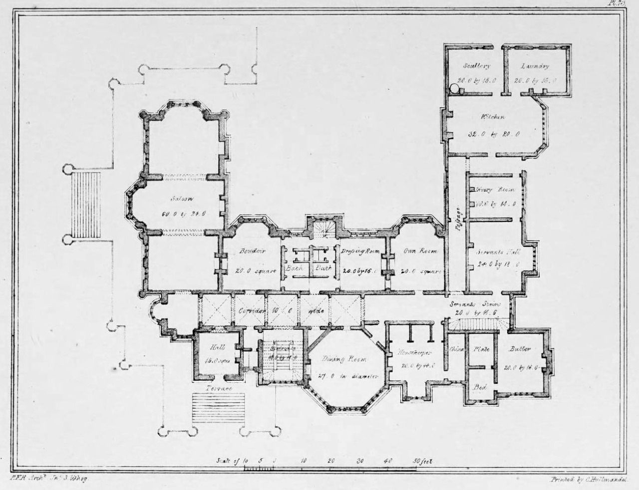 England Country Houses Floors Plans Architecture Floors Large Country Buildings Plans Floor Pl Architectural Floor Plans Architecture Mapping Floor Plans