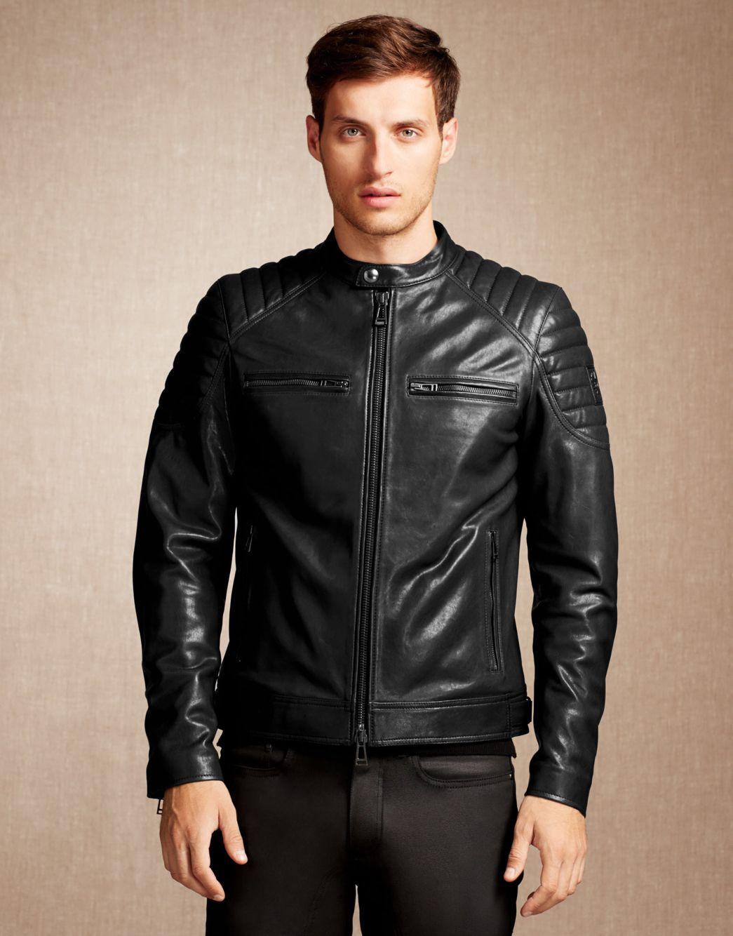 fb845e3a31 Belstaff Stoneham Jacket | Men's Apparel | Leather jacket brands ...