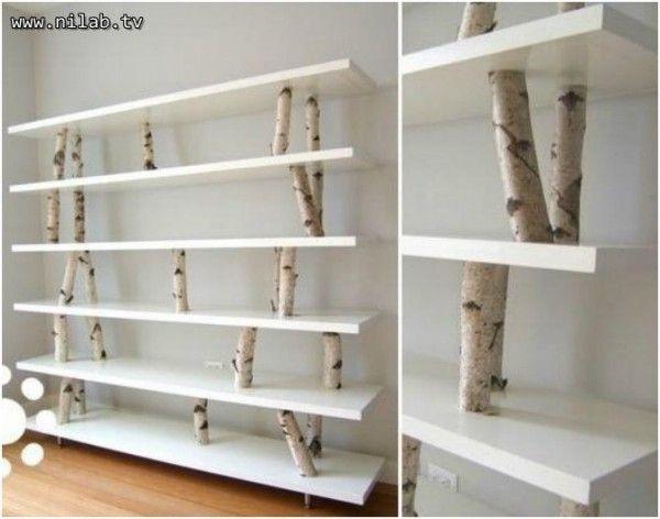Homemade Bookshelf Ideas 12 incredible bookcase ideas | modern bookshelf, crates and