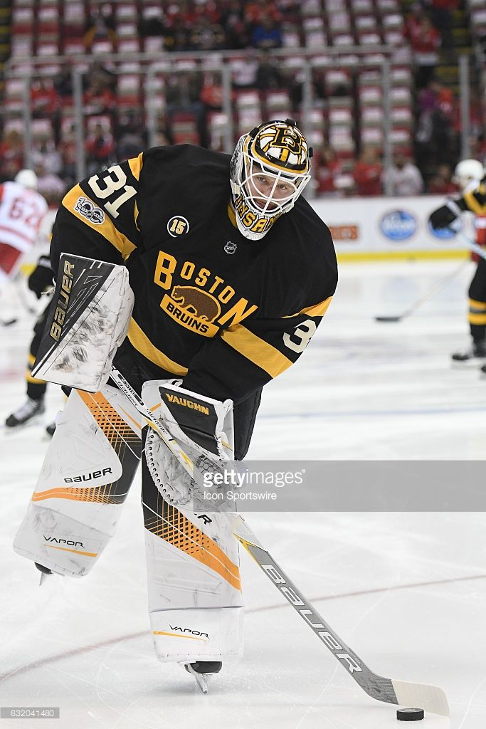 Boston Bruins Goalie Zane Mcintyre During Pregame Warmups Prior To Picture Id632041480 683 1024 Boston Bruins Goalies Boston Bruins Boston Sports