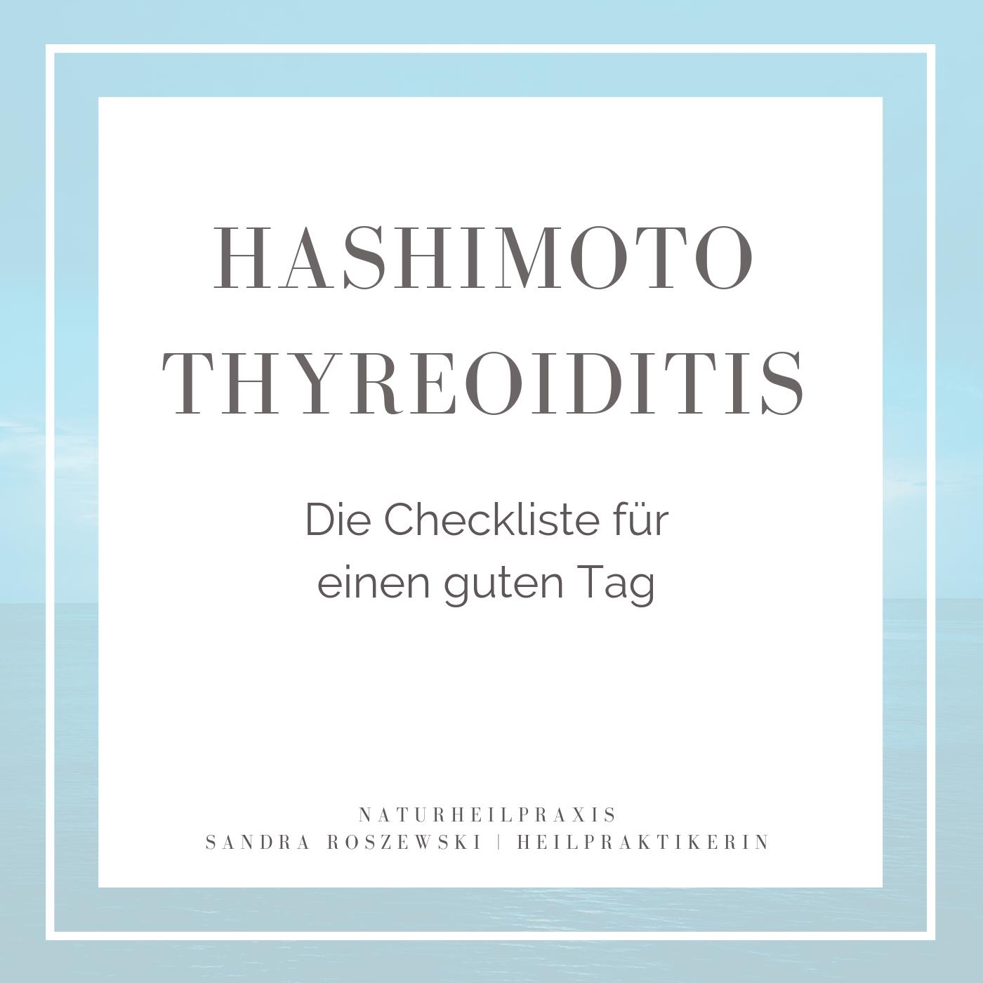 Shop in 2020   Schilddrüsenprobleme, Hashimoto, Checkliste