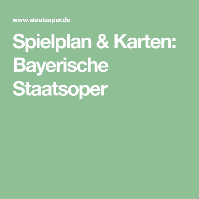bayerische staatsoper programm