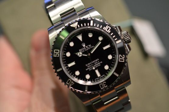 rolex submariner no date new vs old