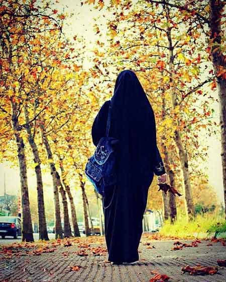 عکس دختر چادری برای پروفایل از پشت Islamic Girl Images Girly Pictures Islamic Pictures