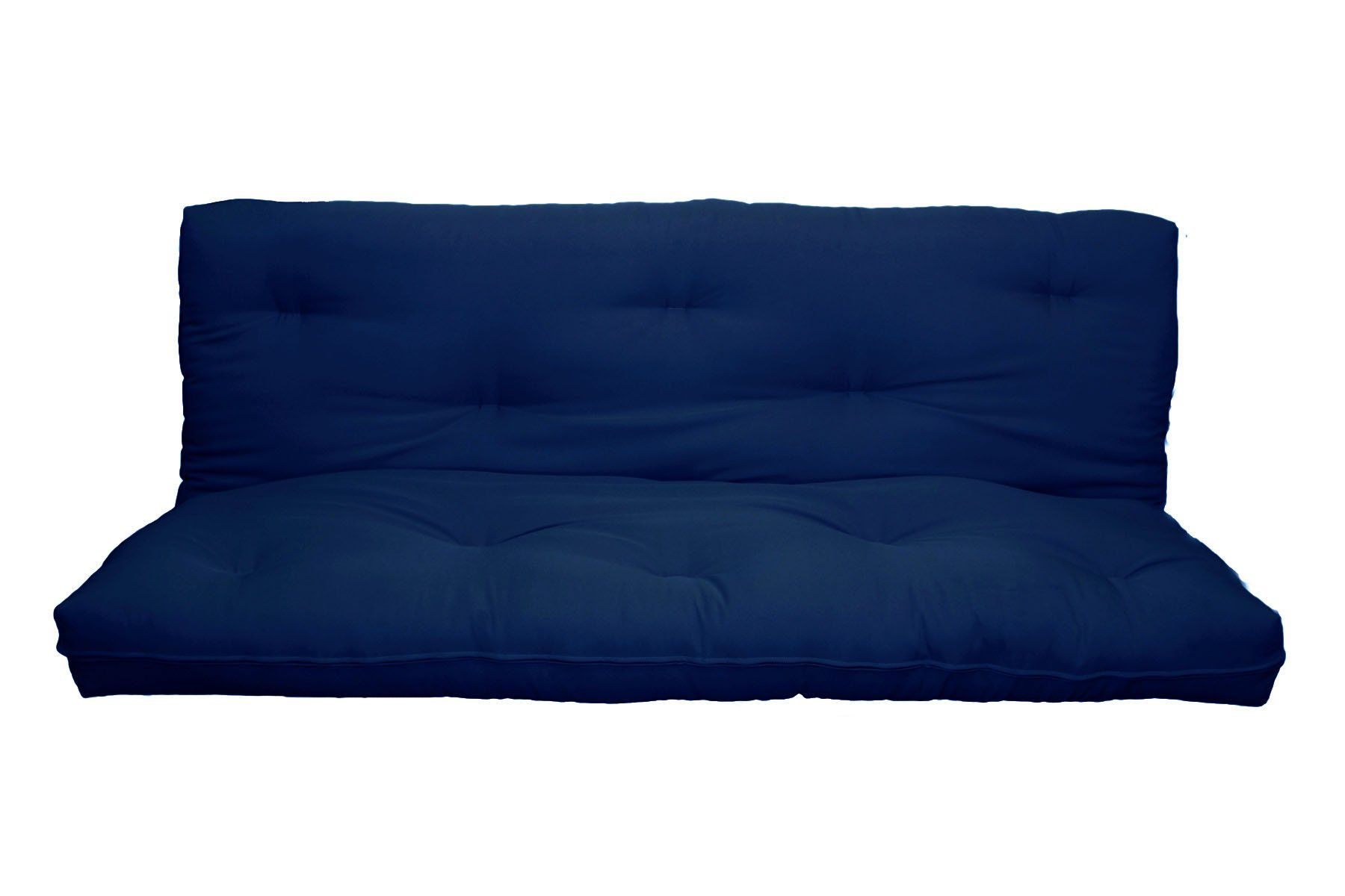 Milton Greens Stars 8inch Replacement Innerspring Futon Pad Full Navy For More Information Visit