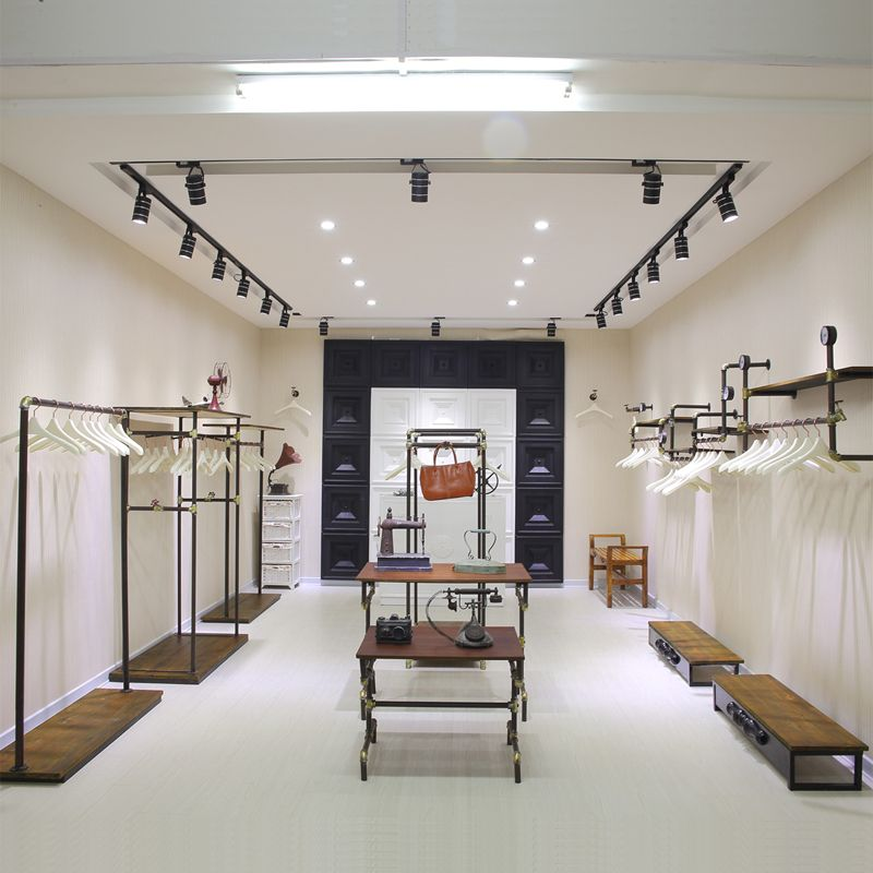 Shelves for clothing store