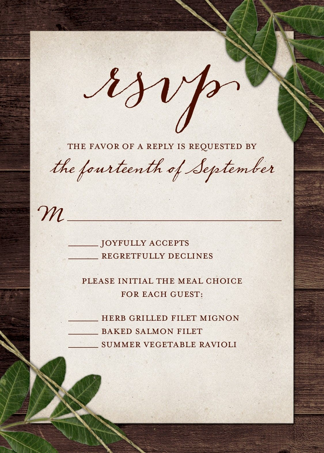 Wedding Rsvp Wording And Card Etiquette 2019 Shutterfly Wedding Response Cards Rsvp Cards Wording Wedding Rsvp Wording