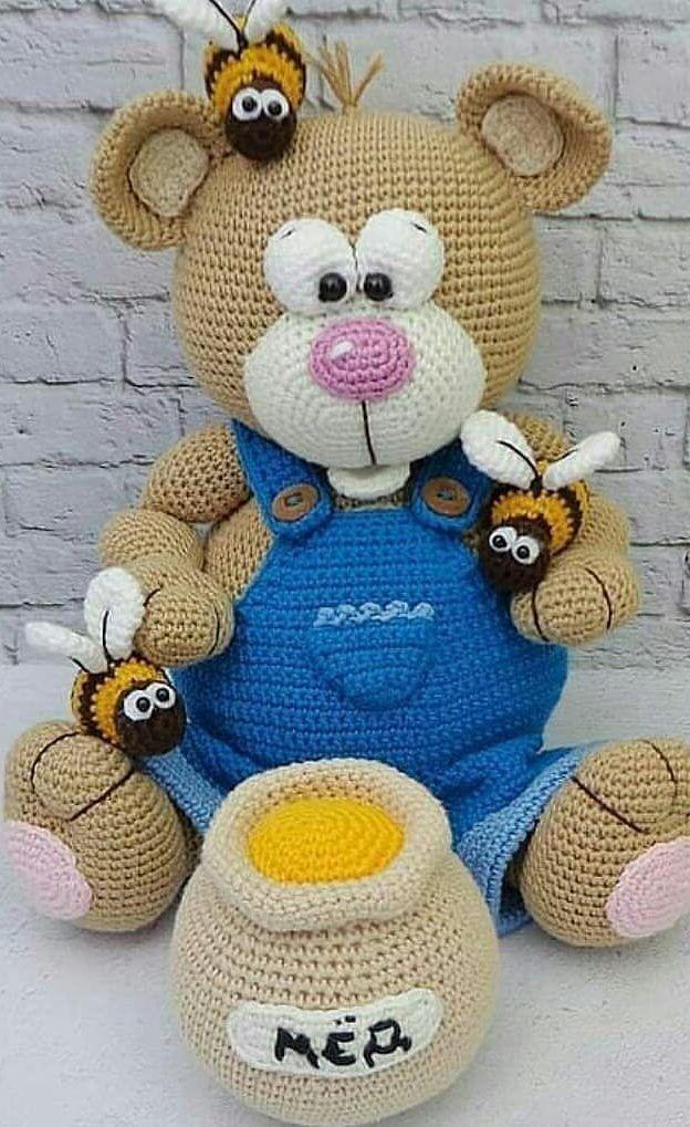 57+ New and Trend Amigurumi Bear Crochet Pattern Ideas Part 20 #crochetbearpatterns