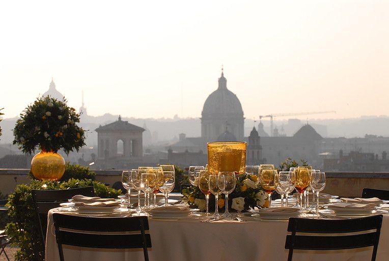 Colazioni A Vista Roma Terrazza Caffarelli Roma Terrazzo