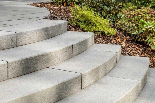 METTEN stein+design Gebogen traptreden