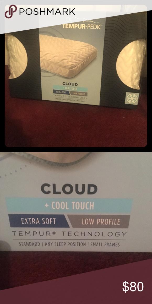 Tempur Pedic Cloud Cool Touch Pillow Nwt In 2020 Cool Stuff