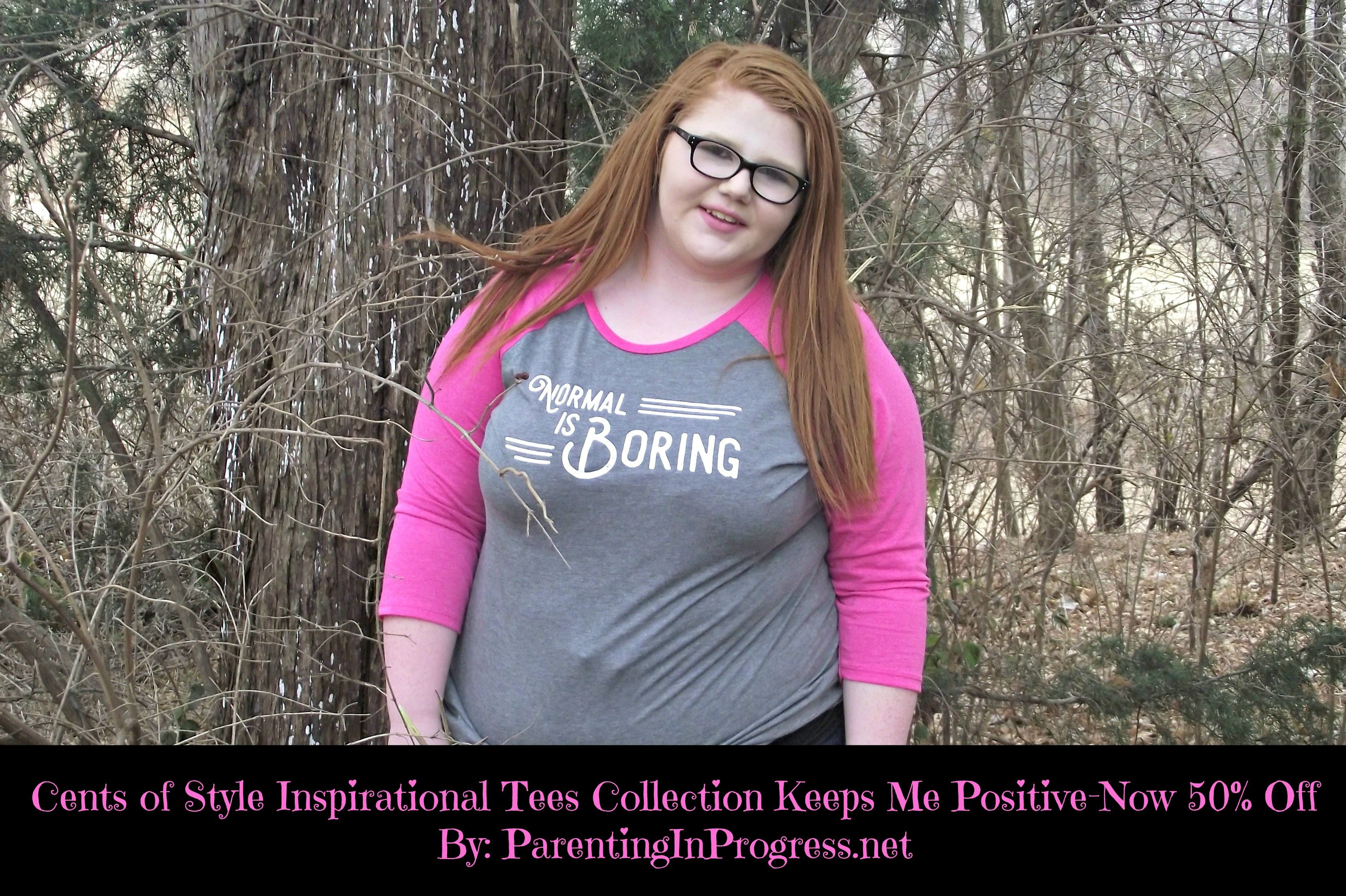 Cents of Style Inspirational tees 50% off this weekend. Which shirt inspires you? #ad #InspiationalTees #FashionFriday http://parentinginprogress.net/centsofstylejan